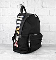 Рюкзак большой текстильный черный 2066