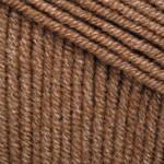 Пряжа для вязания Джинс шоколад 40