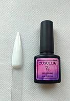 Насыщенный белый гель лак 8 мл №2 Coscelia Осенняя коллекция