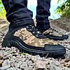 Мужские кроссовки на протекторной прошитой подошве (Кз-16зл-2), фото 2
