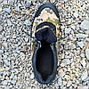 Мужские кроссовки на протекторной прошитой подошве (Кз-16зл-2), фото 3