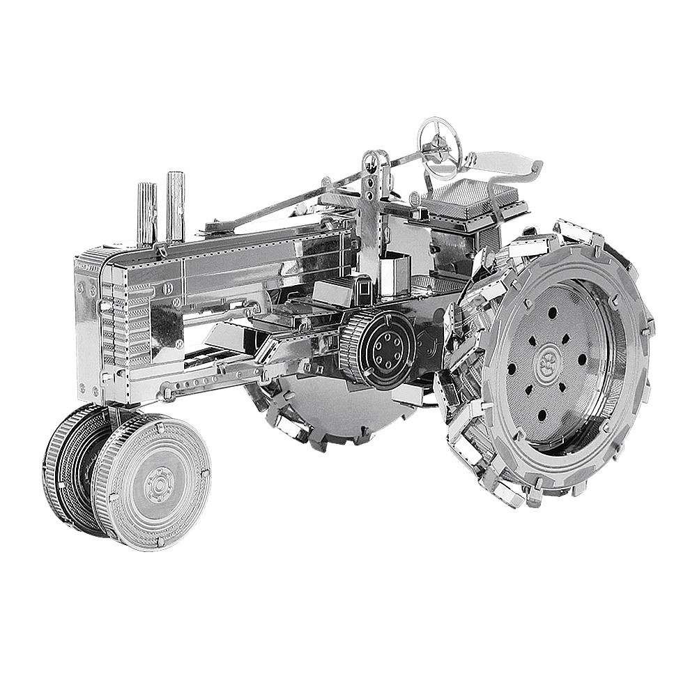 Металлический 3D-пазл (конструктор) Трактор