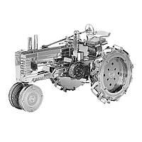 Металлический 3D-пазл (конструктор) Трактор, фото 1