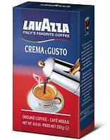Итальянский молотый кофе Lavazza Crema Gusto 250 грамм
