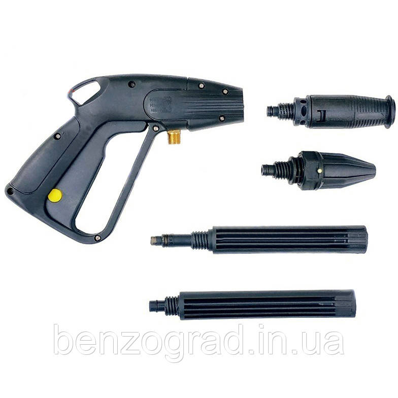 Пистолет для мойки высокого давления (пластик, 2 насадки)
