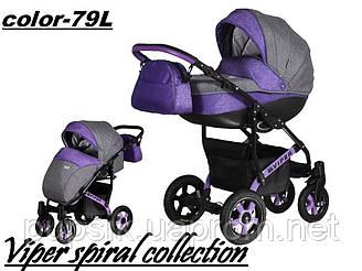 Коляска Angelivka Viper Spiral Collection 2 в 1 (Цвет 79L)