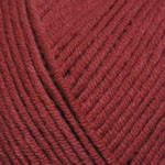 Пряжа для вязания Джинс вишневый 51