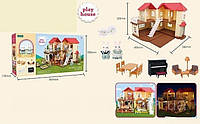 Домик Счастливая семья My Happy Family S 01 4 подсветка, в коробке
