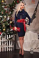 Ангоровое платье-туника