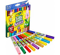 Смываемые фломастеры с запахом Крайола Crayola Silly Scents Washable Markers 20 цветов