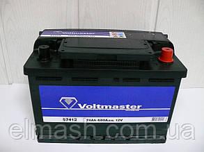 Аккумулятор 74Ah-12v VOLTMASTER (278х175х190),R,EN680
