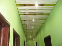 Потолки алюминиевые реечные бард