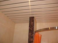 Реечные подвесные потолки для ванной