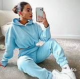 Женский спортивный костюм на флисе 42-44, 44-46, фото 4