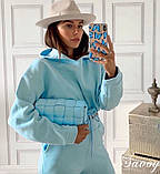 Женский спортивный костюм на флисе 42-44, 44-46, фото 5