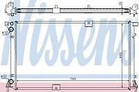 Радиатор водяной, охлаждение двигателя, Renault Trafic - Opel Vivaro - Primastar 2.5 dCi  2002>, NISSEN 63818A