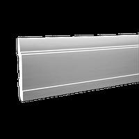 Плинтус напольный 1.53.102, длина 2м, Европласт