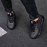 Кроссовки мужские в стиле Nike Air Max 720 termo Grey, кроссовки Найк Аир Макс 720 термо (Реплика ААА), фото 4