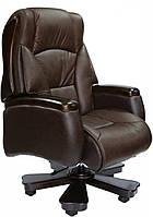 Кресло Барин люкскожа коричневая