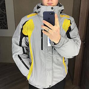Чоловіча гірськолижна Куртка Snow Headquarter Сірий XL/XXL