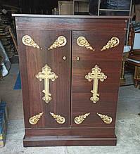 Шкафчик церковный с декором (спецзаказ)