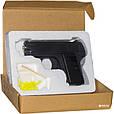 Пістолет металевий ZM03 стріляє круглими пластиковими кулями 6 mm. Т2, фото 3