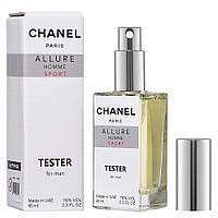 Тестер мужской *Chanel Allure homme Sport, 60 мл / Парфюм / Парфюмированая вода / Духи