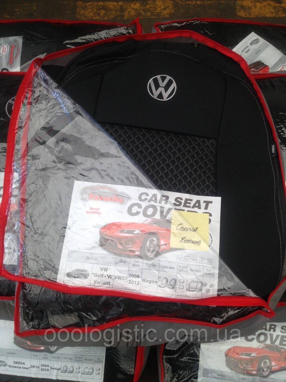 Авточохли на Volkswagen Golf 6 Variant 2008-2012 wagon