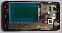 LG Optimus G E975 E973 дисплей + сенсор + рамка оригінальний тачскрін