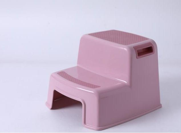 Ступеньки в ванную Babyhood Премиум светло-розовые (BH-511LP)