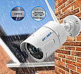 Комплект Wi-Fi IP 4 камеры 720P 1MP видео наблюдения ONVIF с регистратором, фото 3