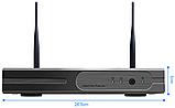 Комплект Wi-Fi IP 4 камеры 720P 1MP видео наблюдения ONVIF с регистратором, фото 5