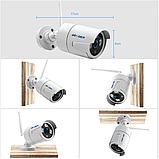 Комплект Wi-Fi IP 4 камеры 720P 1MP видео наблюдения ONVIF с регистратором, фото 6