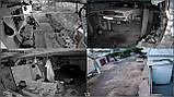 Комплект Wi-Fi IP 4 камеры 720P 1MP видео наблюдения ONVIF с регистратором, фото 9