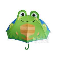 Детский зонтик Зеленая лягушка