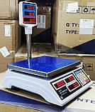 Весы торговые англ/укр версия Днепровес ВТД Т2 ЖК ( model : APD-QT ), фото 2