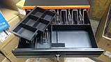 Качественный Металлический 8 купюр 4 монет денежный ящик JEPOD A-4043, фото 3