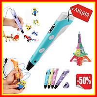 3D Ручка с дисплеем для рисования объемных моделей WJ1