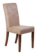 Дерев'яний стілець з м'якими сидінням і спинкою для ресторану. Покриття: олія-віск. МГ-040