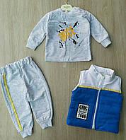 Детский костюм 6-18 мес для мальчиков Турция оптом