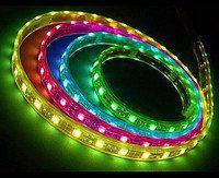 Светодиодная лента Ledstar SMD 5050 RGB- 60 LED на метр- IP65 влагозащищеная 14,4W - 12V