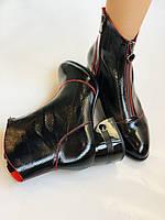 Женские осенне-весенние ботинки  средний каблук. Натуральная кожа.Высокое качество. Р. 38.39 Vistally, фото 10