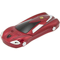 Мобильный телефон Ferrari F2  на 2 SIM Красный Машинка Ферари