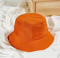 Панама Оранжевая 2, Унисекс, фото 1