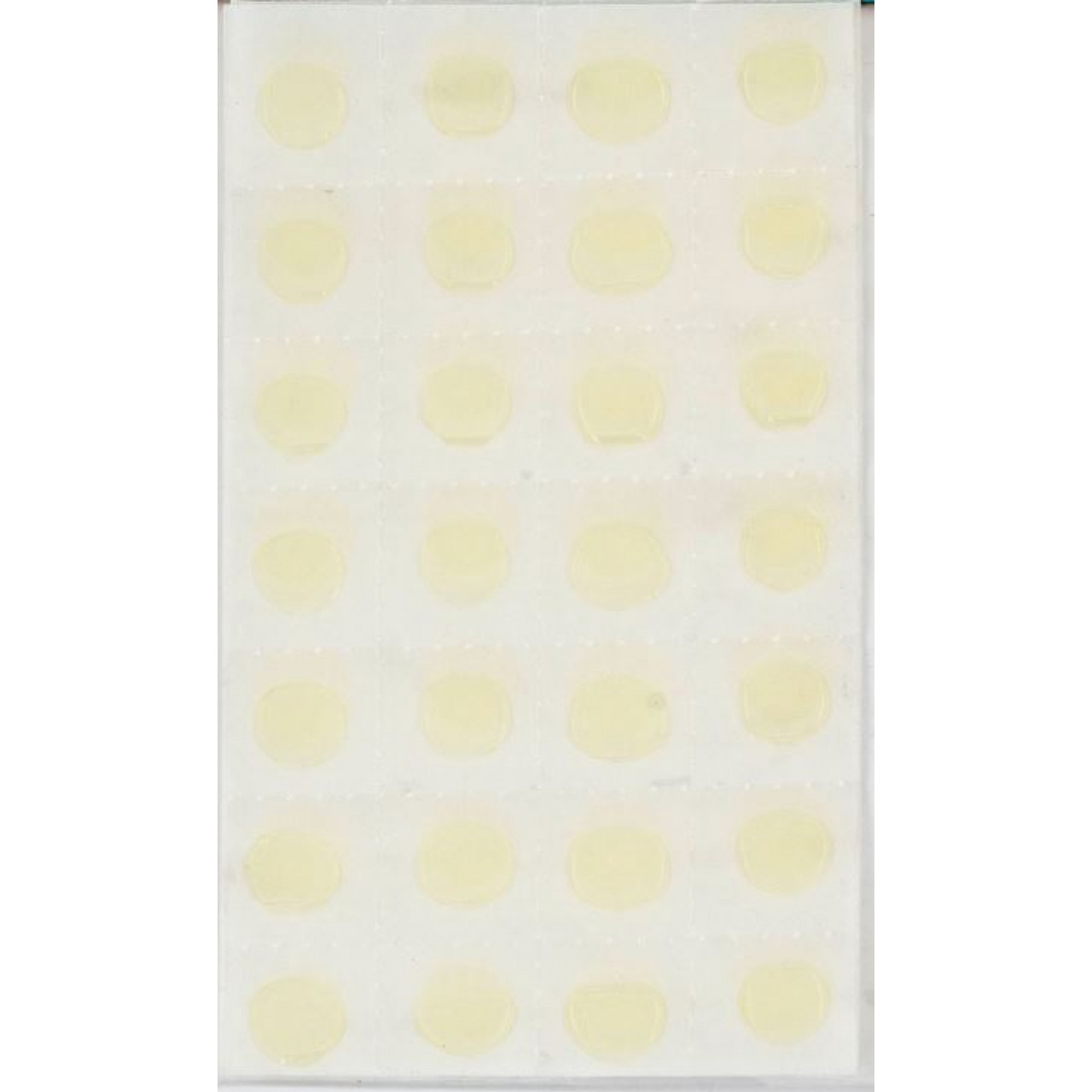 Клеевые капли двусторонние 12 мм, 56 шт 952705 Santi