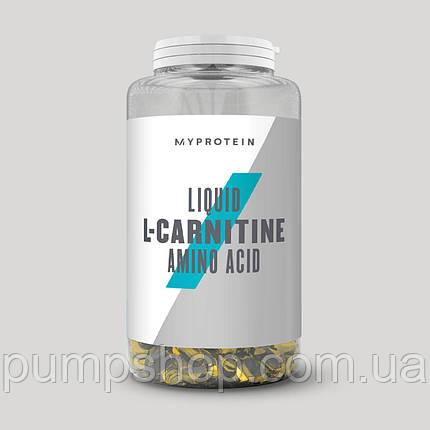 Л-карнитин жидкий в капсулах MyProtein Liquid L-carnitine 270 капс.(135 порций), фото 2