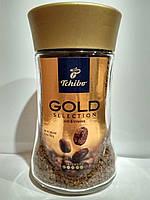 Кофе растворимый Чибо Голд Tchibo Gold Selection 100 г в стеклянной банке