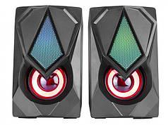 Колонки компьютерные XTRIKE ME RGB Backlight SK-402 Black