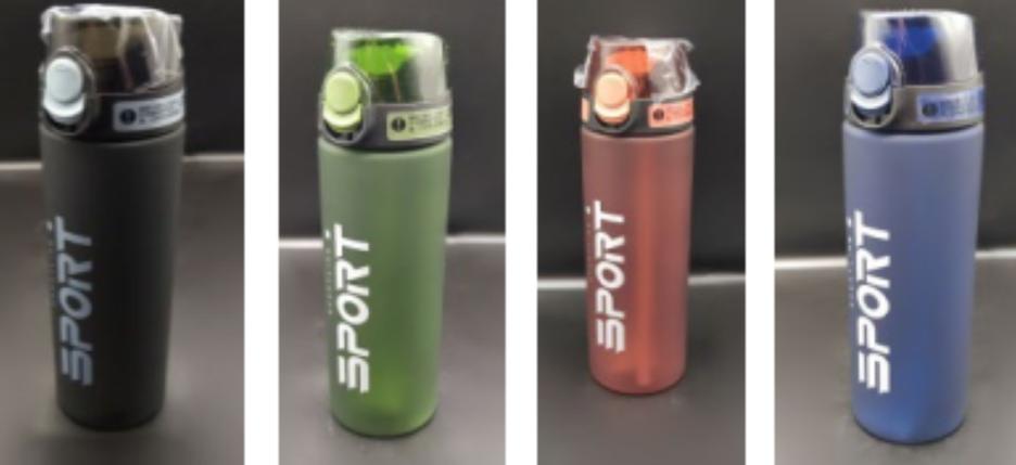 Спортивная бутылка для воды 700 мл (ящ. 50шт), фото 2