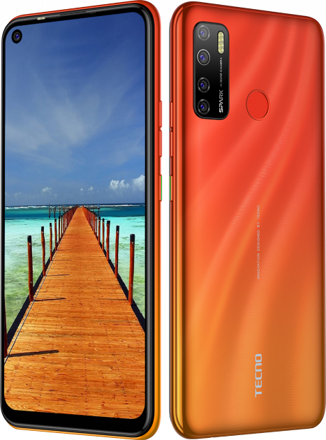 Tecno Spark 5 Pro 4/128GB Orange